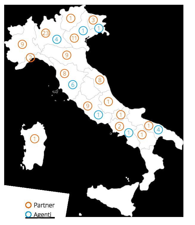 Mappa Partner e Agenti