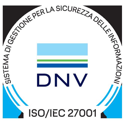 Sistema di gestione per la sicurezza delle informazioni DNV iso/iec 27001
