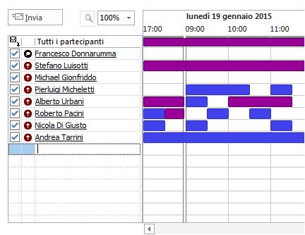 Calendario Outlook.Mail Welcome Italia